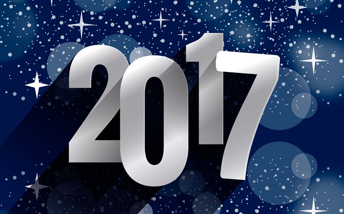 Happy New Year 2017 HD Theme Desktop Wallpaper Views:7310