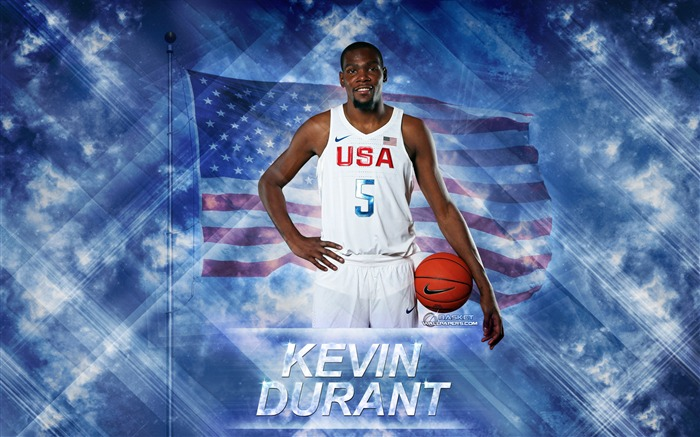 Kevin Durant-2016 Basketball Star Poster Wallpaper