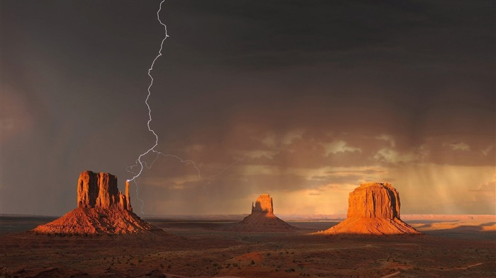 Monument valley-Nature High Quality HD Wallpaper Views:4425 Date:12/10/2016 10:24:32 PM