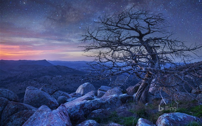 Oklahoma Wichita Mountains Wildlife Refuge-2016 Bing Desktop Wallpaper Views:522