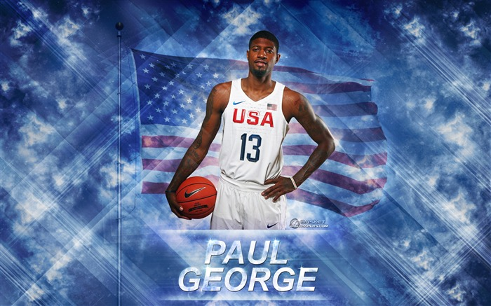 Paul George-2016 Basketball Star Poster Wallpapers Views:858