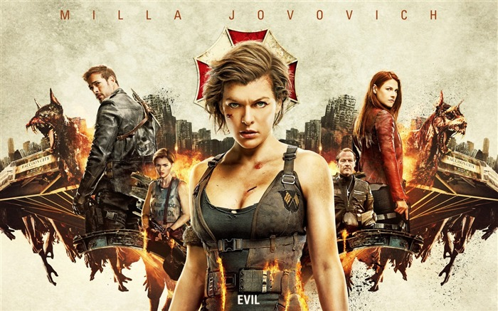 Resident evil the final chapter 2017-2016 Movie Posters Wallpaper Views:1454