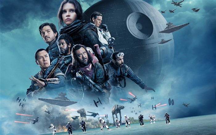 Rogue one a star wars story-2016 Movie Posters HD Wallpaper Views:1774