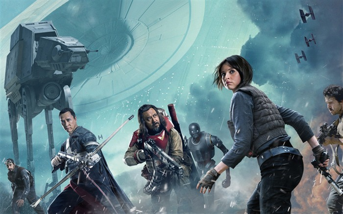 Rogue one a star wars story-Movie Posters HD Wallpaper Views:1453