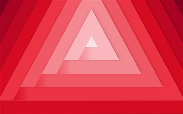 Triangles minimal-2016 Vector Design HD Wallpaper Views:800