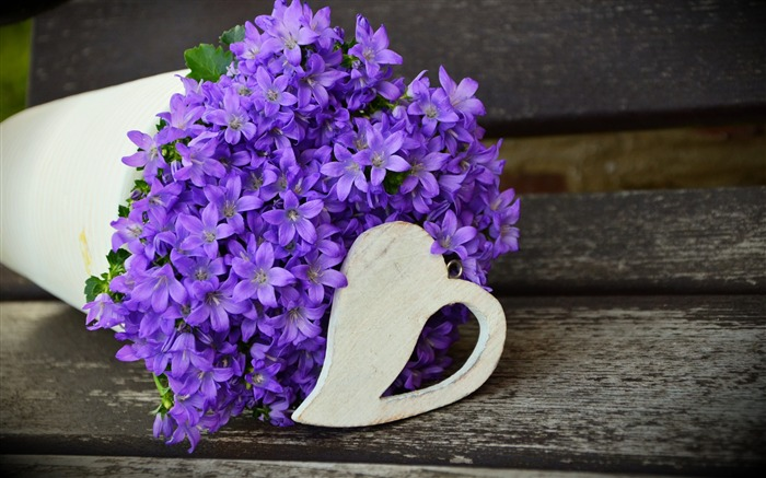 flowers purple bouquet-Flowers Photo HD Wallpaper Views:1379