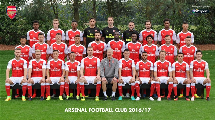 2016-2017 Arsenal Football Club Fonds d'écran Vues:3710