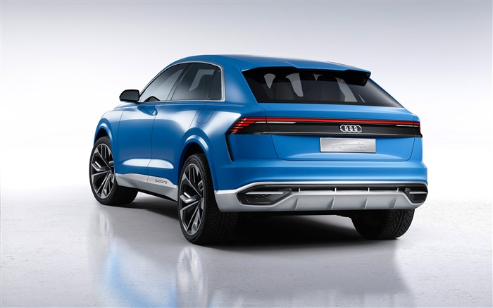 2017 Audi Q8 Concept Auto Poster HD Wallpaper 01 Views:1151