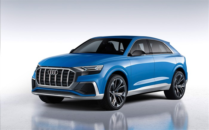 2017 Audi Q8 Concept Auto Poster HD Wallpaper 02 Views:1315