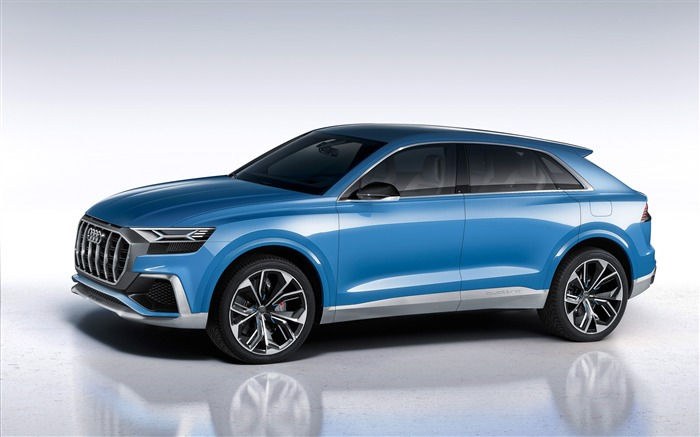 2017 Audi Q8 Concept Auto Poster HD Wallpaper 03 Views:1111
