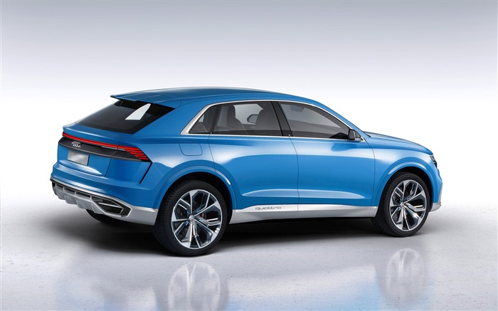2017 Audi Q8 Concept Auto Poster HD Wallpaper 04 Views:917