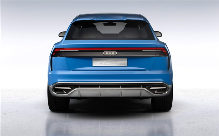 2017 Audi Q8 Concept Auto Poster HD Wallpaper 05 Views:920