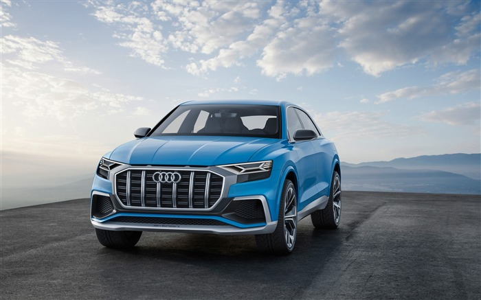 2017 Audi Q8 Concept Auto Poster HD Wallpaper 07 Views:1248