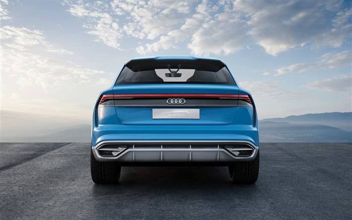 2017 Audi Q8 Concept Auto Poster HD Wallpaper 08 Views:1080