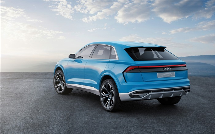 2017 Audi Q8 Concept Auto Poster HD Wallpaper 09 Views:1252