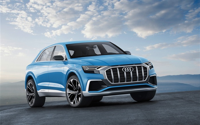 2017 Audi Q8 Concept Auto Poster HD Wallpaper 10 Views:1030