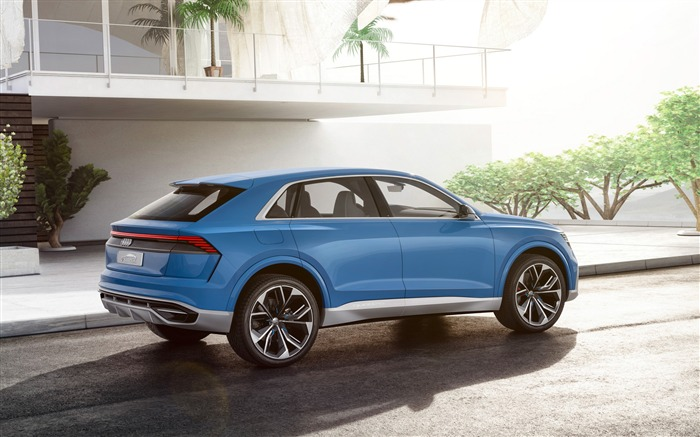 2017 Audi Q8 Concept Auto Poster HD Wallpaper 11 Views:1245