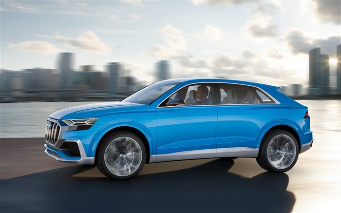 2017 Audi Q8 Concept Auto Poster HD Wallpaper 12 Views:1039