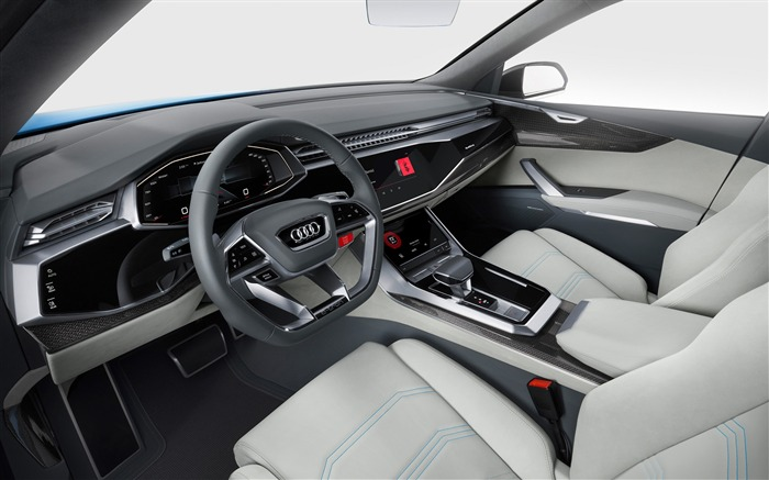 2017 Audi Q8 Concept Auto Poster HD Wallpaper 15 Views:1294