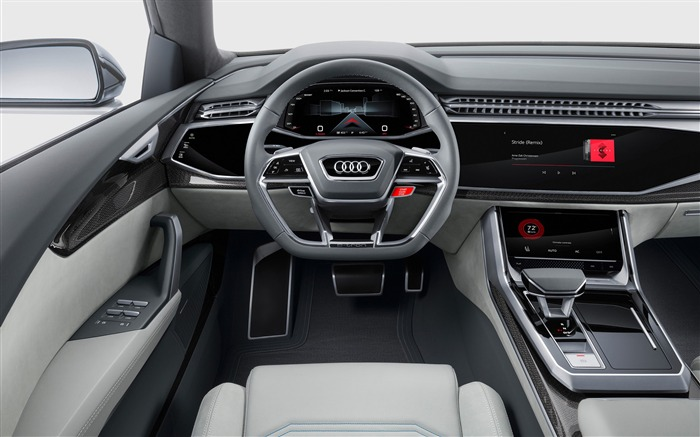 2017 Audi Q8 Concept Auto Poster HD Wallpaper 17 Views:765
