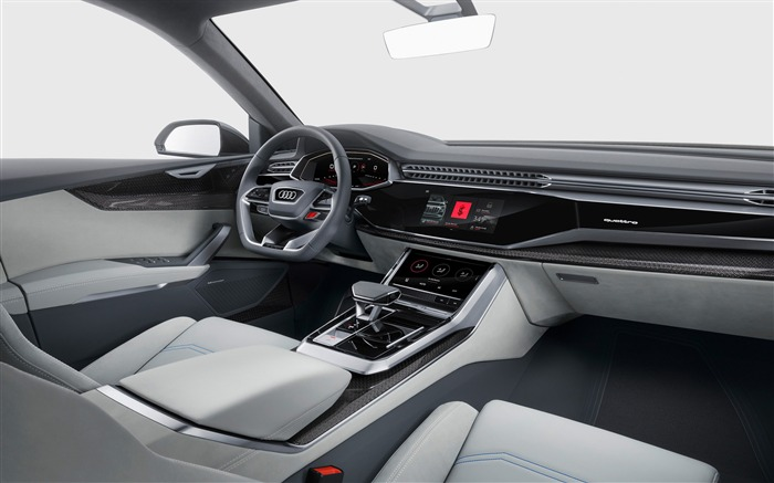 2017 Audi Q8 Concept Auto Poster HD Wallpaper 19 Views:747