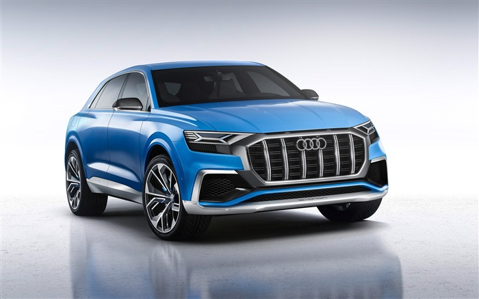2017 Audi Q8 Concept Auto Poster HD Desktop Wallpaper Views:7099