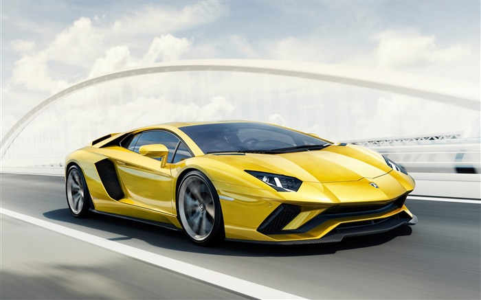 2017 Lamborghini Aventador S Car HD Wallpaper Views:2777