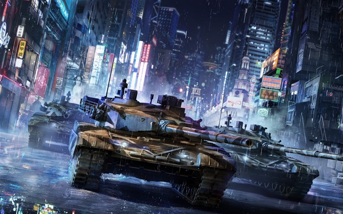 Armored Warfare-2017 Game Posters Wallpaper