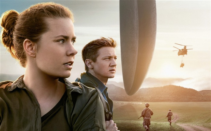 Arrival amy adams jeremy renner-2017 Movie HD Wallpaper Views:1539