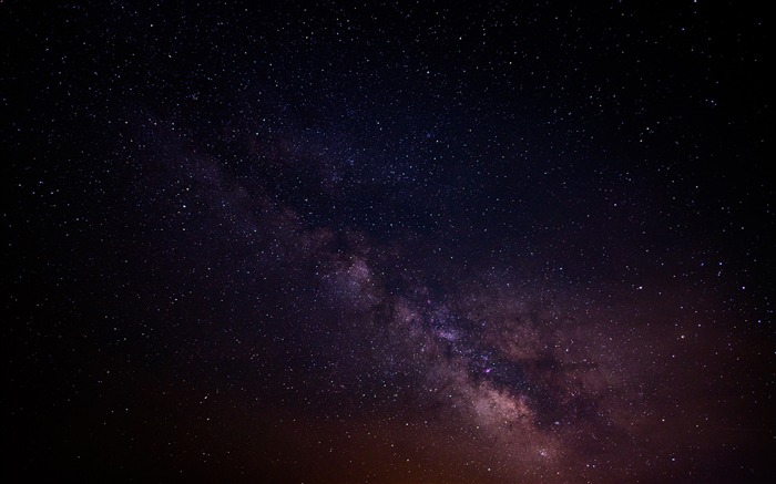 Blue and brown starry sky-Space High Quality Wallpaper Views:1202