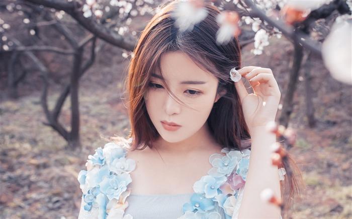 Chinese Youth Fashion Beauty Girls Photo Wallpaper Album