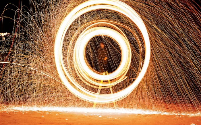 Fire effect ring light-Life Photography HD Wallpaper Views:1410