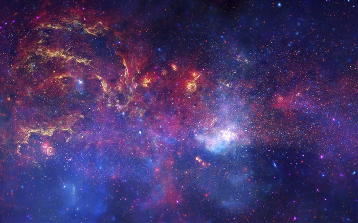 Galactic Evolution Vibrant Stellar-Space High Quality Wallpaper