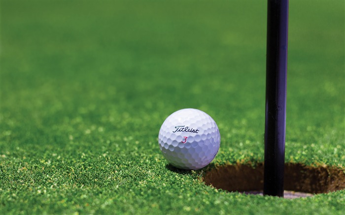 Grass green golf ball-Sports Poster HD Wallpaper Views:1199