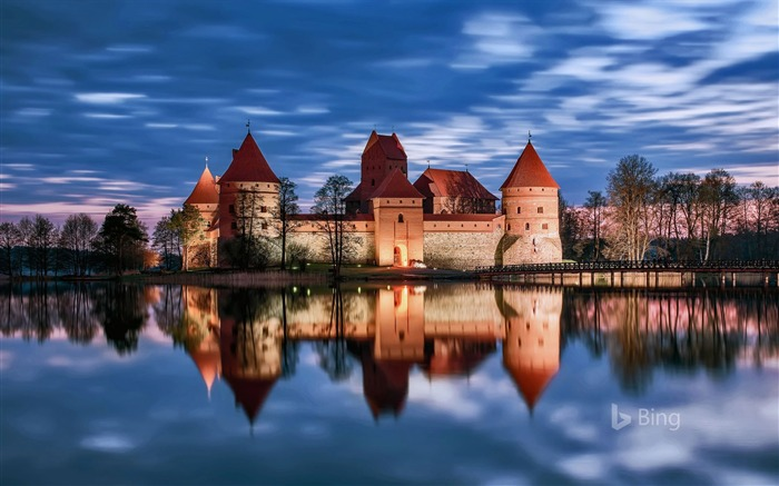 Lithuania Trakai Island Castle in Trakai-2017 Bing Desktop Wallpaper Views:419