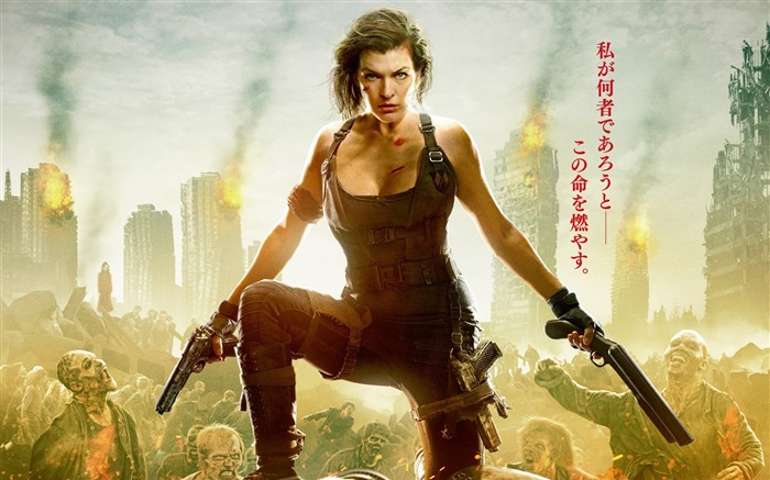 Resident evil the final chapter-2017 Movie HD Wallpaper 01 Views:1179