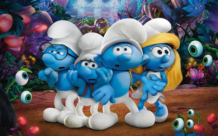 Smurfs the lost village-2017 Movie HD Wallpaper 01 Views:2034