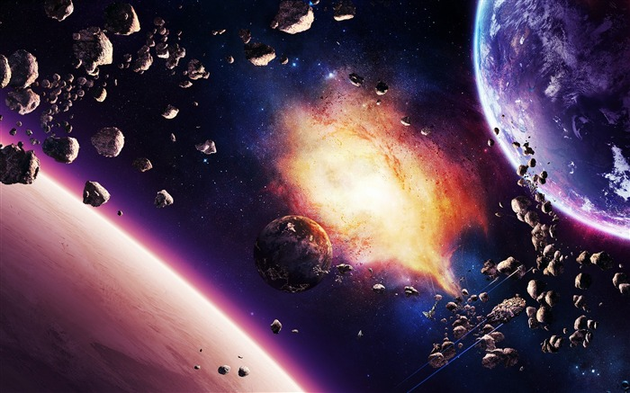 Digital Universe Space HD High Quality Wallpaper Views:5689