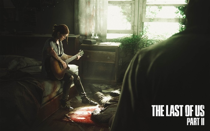 The last of us part ii ellie-2017 Game Posters Wallpaper