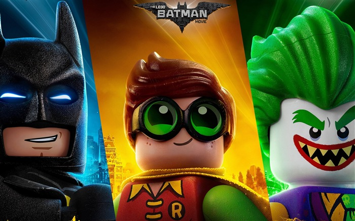 The lego batman joker robin-2017 Movie HD Wallpaper Views:608