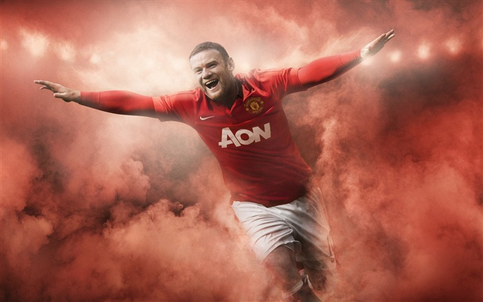 Wayne Rooney-Sports Poster HD Wallpaper Views:666