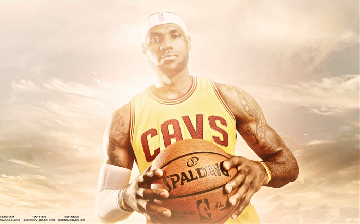 lebron james basketball-Sports Poster HD Wallpaper Views:1291