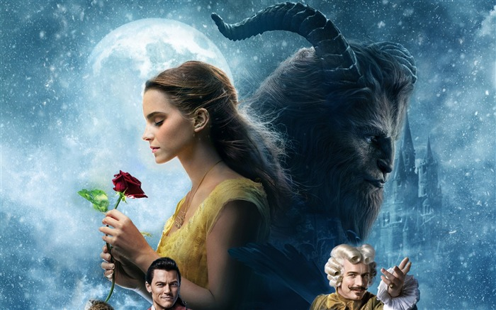 2017 beauty and the beast-High Quality HD Wallpaper Views:1200