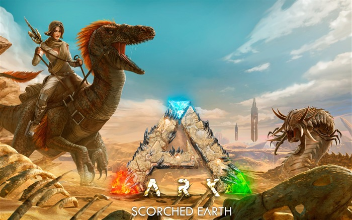 Ark scorched earth-2017 Game HD Wallpaper Views:1648