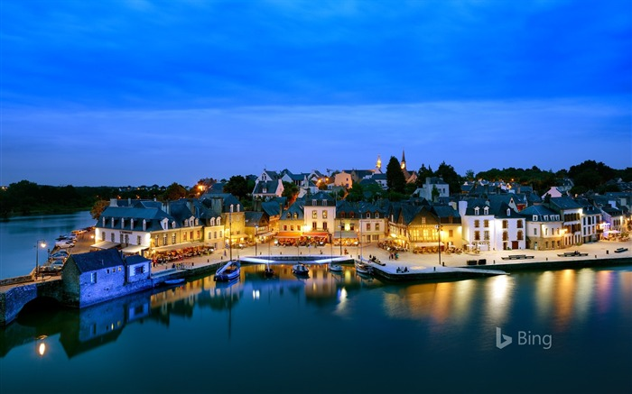 Auray Dusk-2017 Bing Desktop Wallpaper Views:769