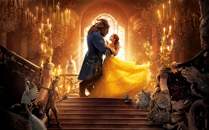 Beauty And The Beast 2017 Movies Poster HD Wallpaper Views:7719