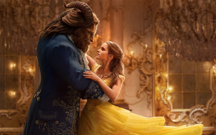 Beauty And The Beast 2017 Movies HD Wallpaper 05 Views:1107