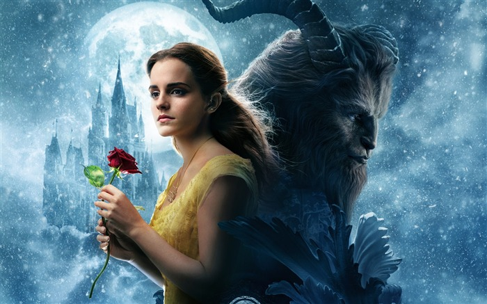 Beauty And The Beast 2017 Movies HD Wallpaper 06 Views:1260