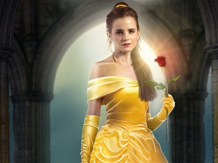 Beauty And The Beast 2017 Movies HD Wallpaper 19 Views:744