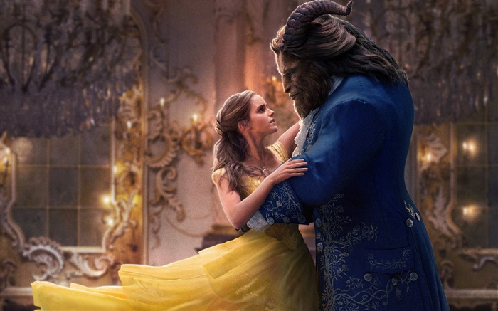 Beauty And The Beast 2017 Movies HD Wallpaper 20 Views:540